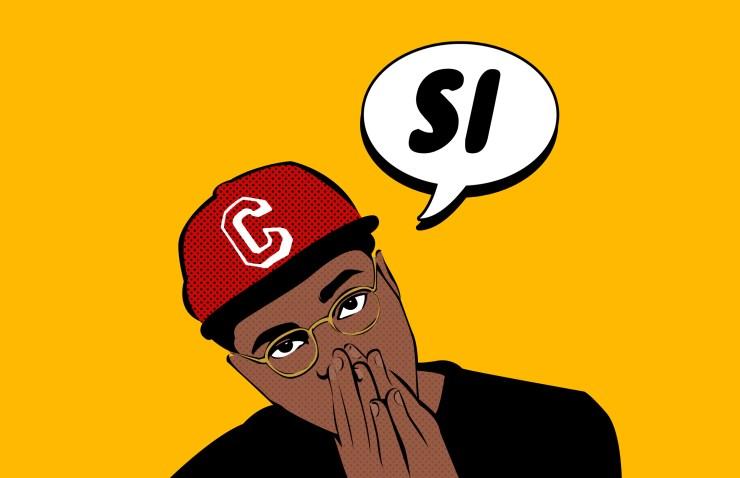 rapper C.KHiD, cartoon image