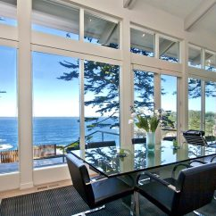 Kitchen Spotlights Custom Tables Interiors Envy: Ocean View Windows In Carmel | California Home