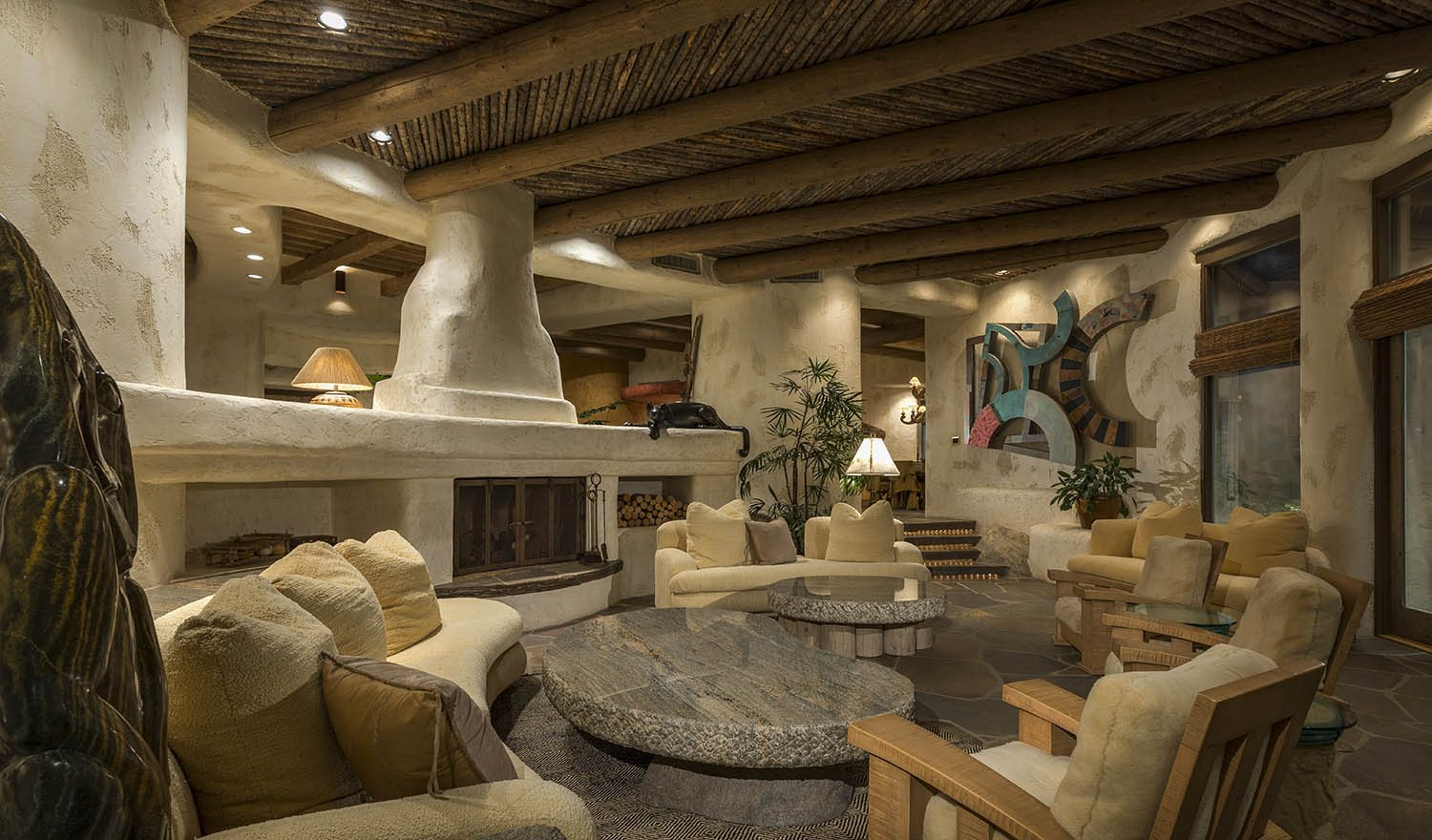 Extraordinary Home of the Week Signature Santa Fe Style in Palm Springs  California Home