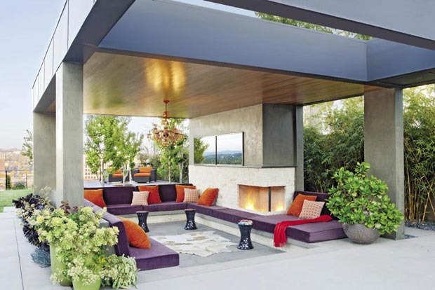 a warm front california home design
