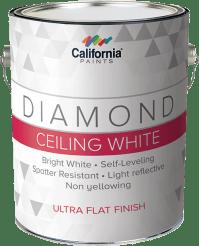 Diamond Ceiling White - California Paints