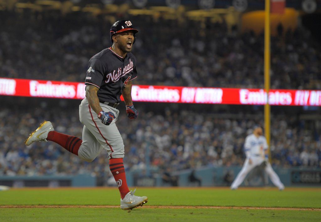 Washington Nationals and the Los Angeles Dodgers  NLDS