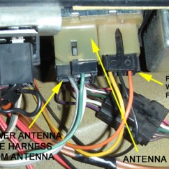 Electric Antenna Wiring Diagram Thermostat Baseboard Heater California Stingrays Car Club Articles Installing Metra S Relay Harnesses Plugged In To The Power