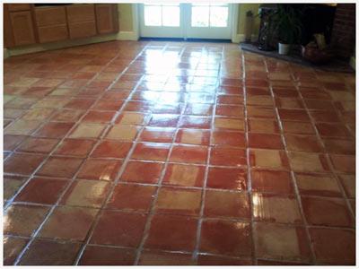 saltillo clay floor pavers sealer