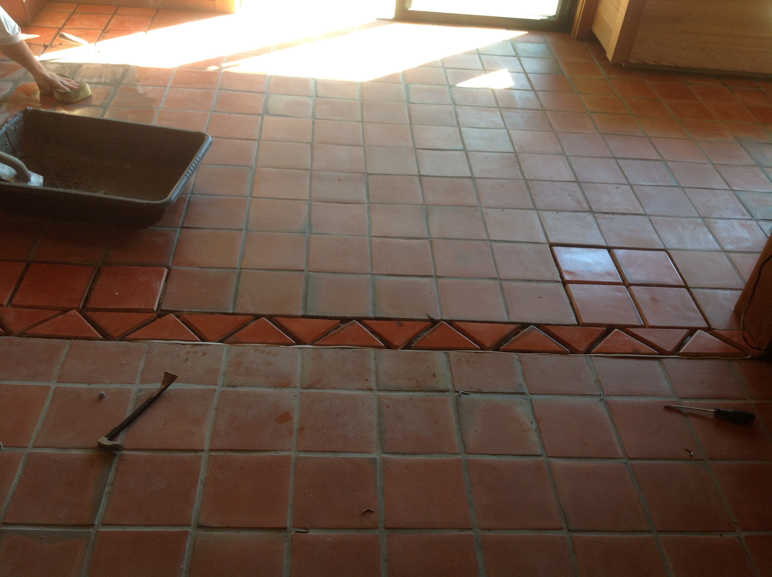 Mexican Paver Replacement  Repair  California Tile