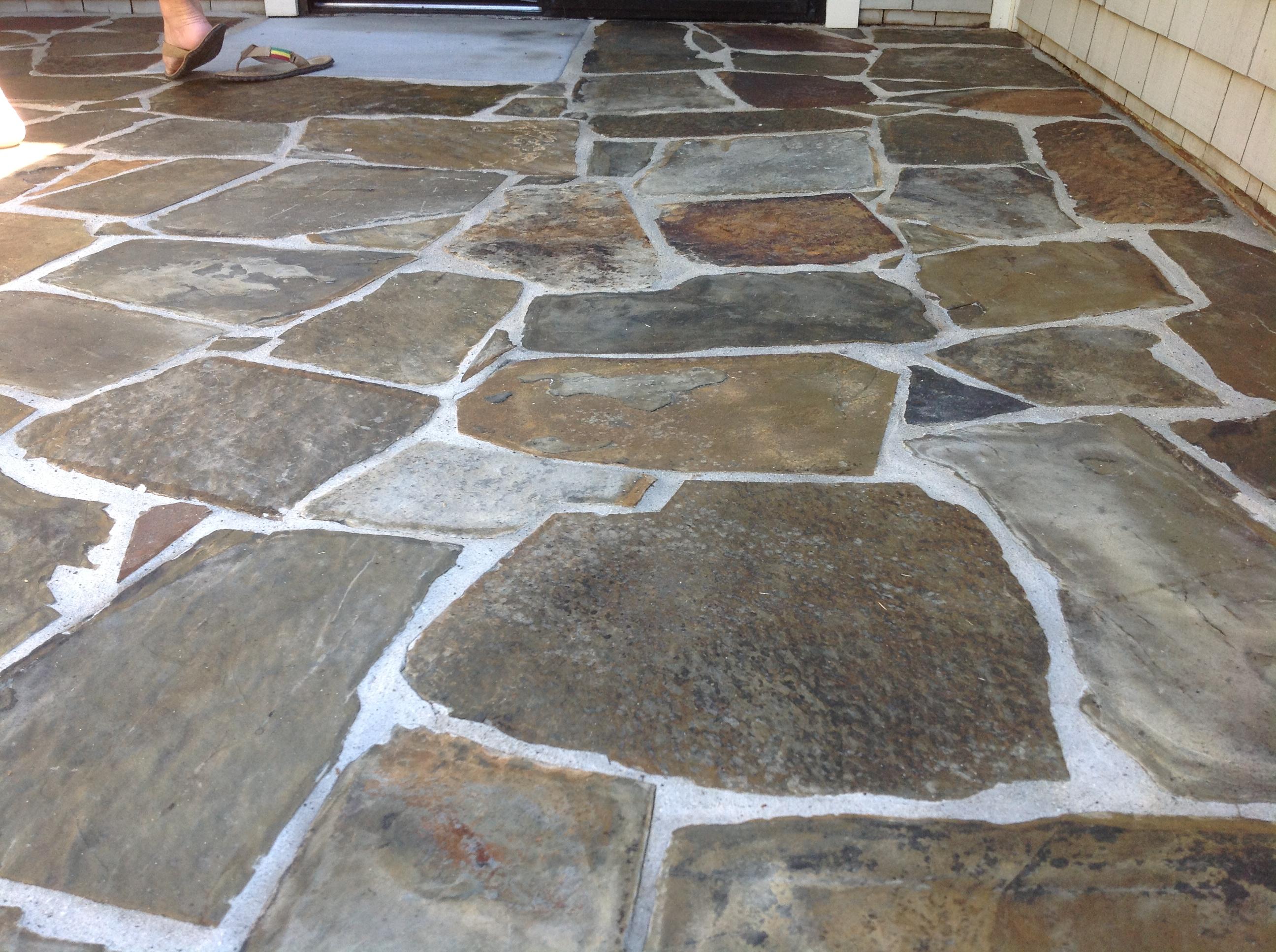 Slate Tile Driving You Crazy  California Tile Restoration