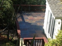 Of Slate Tile Patio