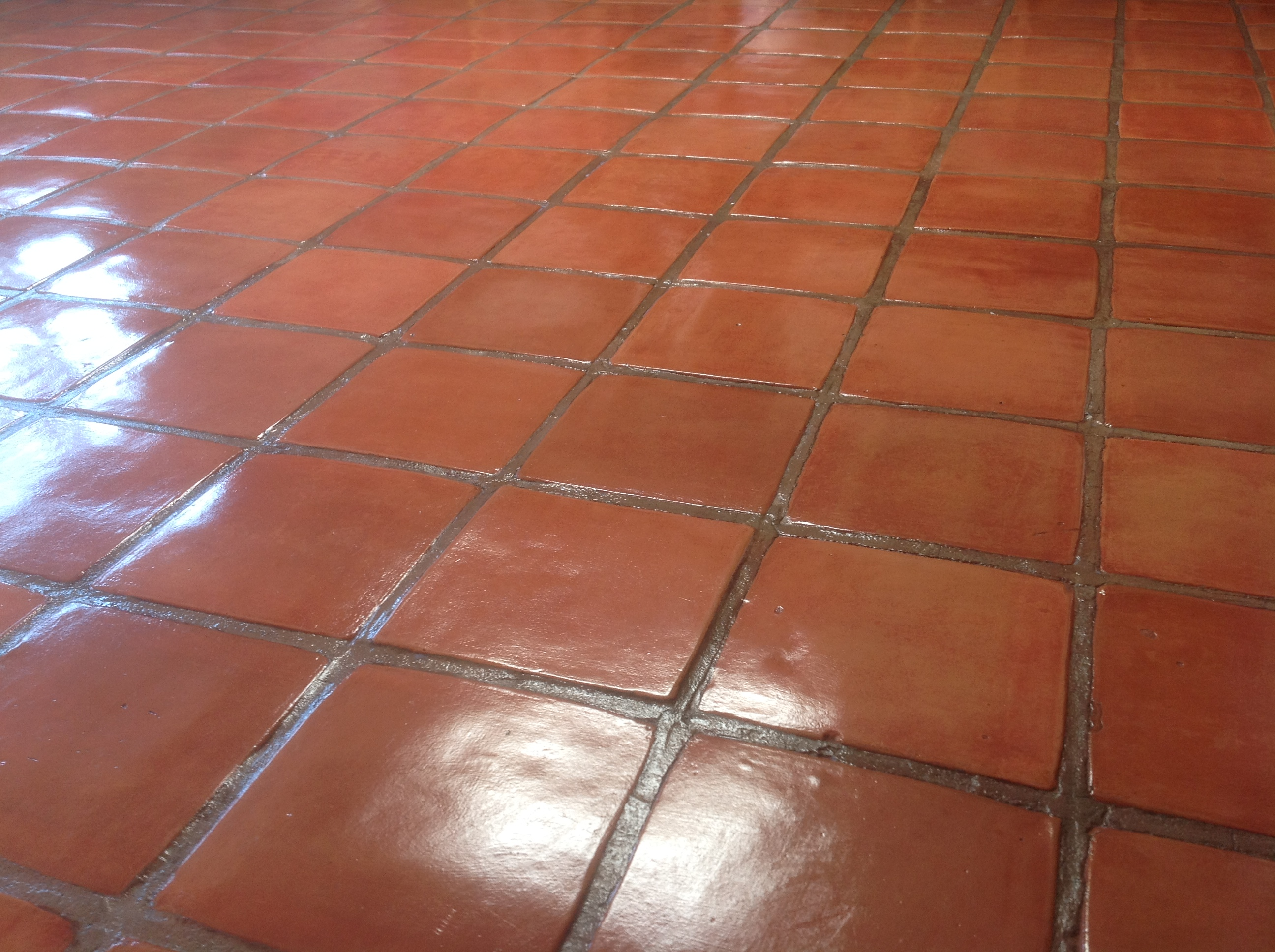 staining and sealing saltillo tile the