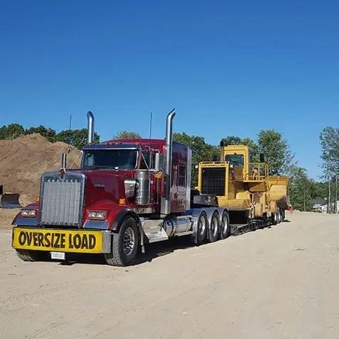 California Transporter Company, heavy equipment transport