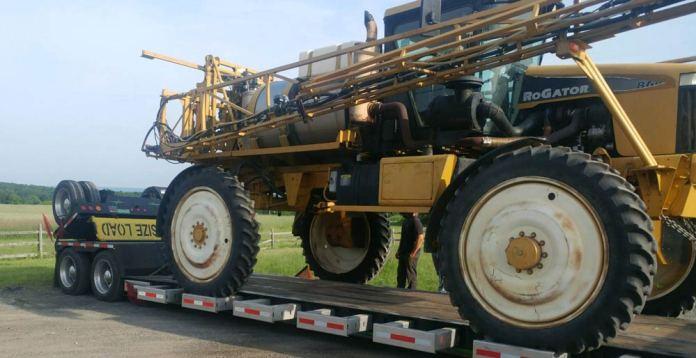 Tractor Transport in LA California