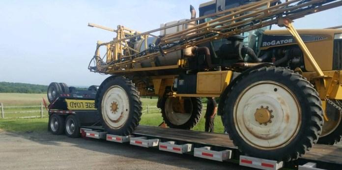 California Agricultural Equipment Shipping, California Farm Equipment Transport Services
