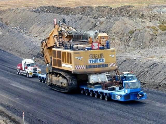 California Mining Equipment Hauling, Mining Equipment & Machinery Transportation CA