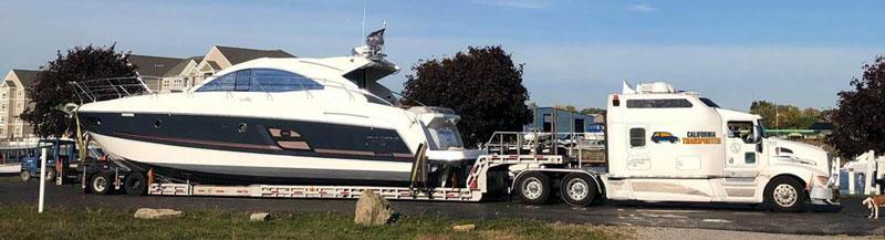Boat Transportation Company in California