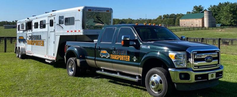 California Horse transport service, Horse moving companies in California