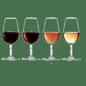 Port wine glasses