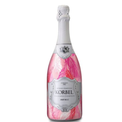 Korbel Lovebird Bottle Wrap
