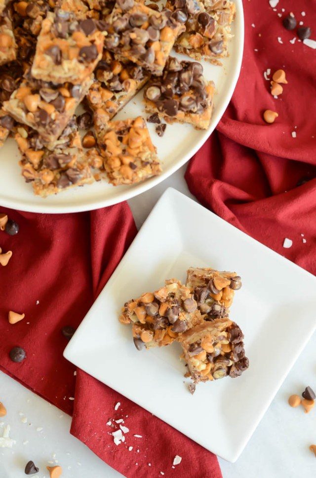 "Give the gift of these indulgent Chocolate, Butterscotch and Coconut ""Grutch"" Bars this holiday season!"