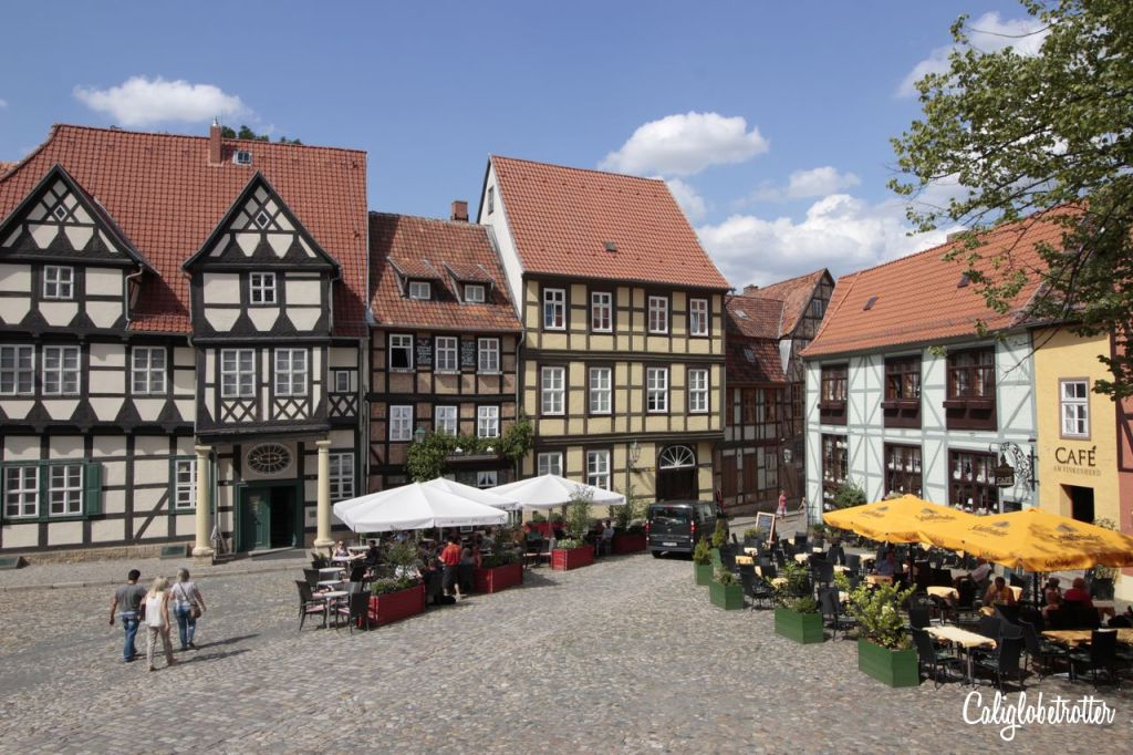 Quedlinburg, a Medieval Half-Timbered Town in the Harz on The Weekly Postcard via @TravelLatte.net