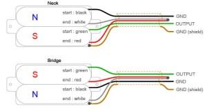 4 Wire Humbucker Wiring Diagram  Somurich