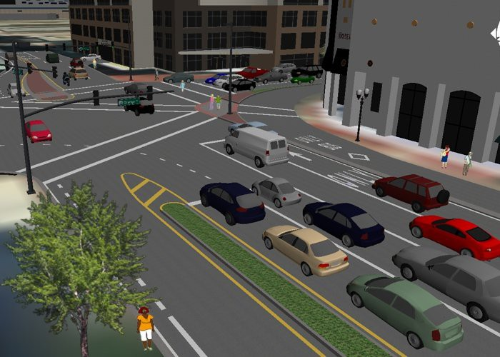 TransModeler Traffic Simulation Models