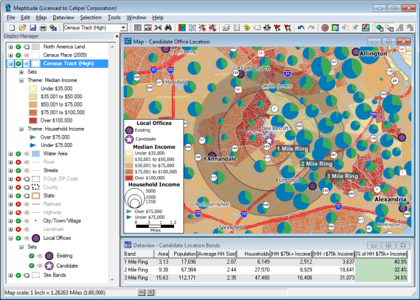 Location Intelligence Software Business Intelligence GIS