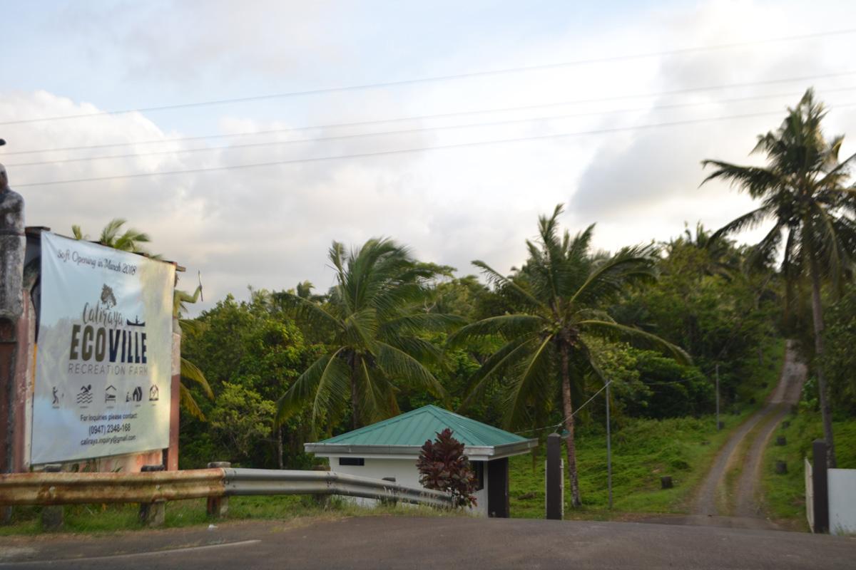Ecoville_Signage Entrance