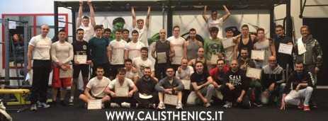 corso calisthenics base milano