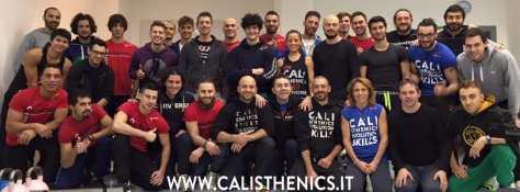 corso istruttore calisthenics
