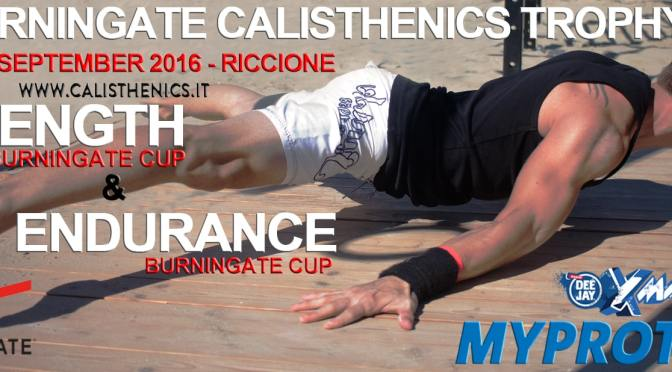 Regolamento Burningate Endurance e Strength Cup