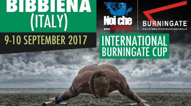 INTERNATIONAL BURNINGATE CUP 2017 9-10 SEPTEMBER ITALY