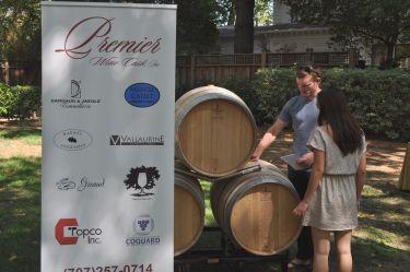 premier wine cask