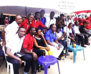 Members of The Country Club, Ugep, at the occasion