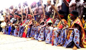 The 'Binahs', a cross section of Ugep chiefs