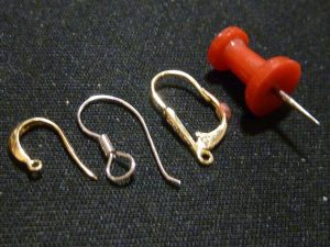 Lever backs, Shephard's hook, and wire back
