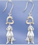 Dangly Dog Lover Earrings