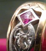 Antique diamond Ring in Need of Milgrain