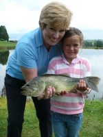Grandma and Grandaughter and fish