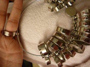 Ring Sizer Gauge for Wide Band Rings, how to figure out your finger size