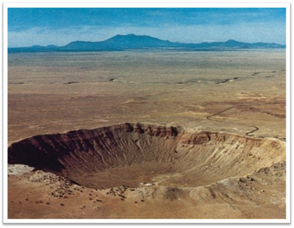 Moissanite Crater in Arizona