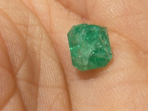 Chipped and Cracked Emerald