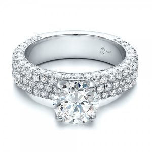 Multi-Diamond Engagement ring by Joseph Jewelers