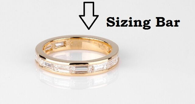 Jewelry Definition - Sizing Bar - Calla Gold Jewelry