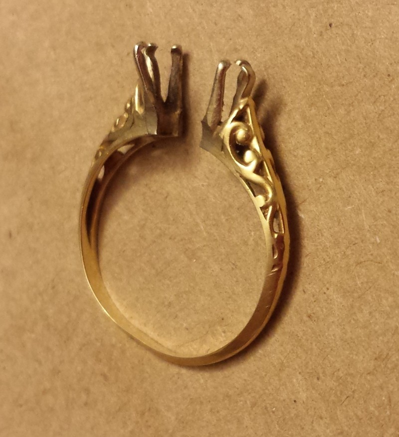 ring replication needed for worn out ring