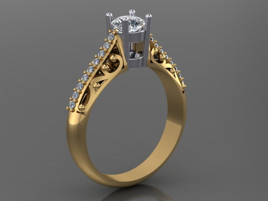 Ring replication, CAD of replica ring