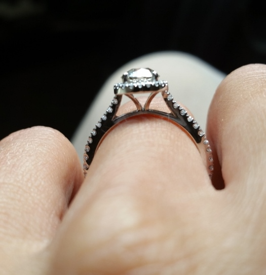 Engagement Ring Style with See through gallery