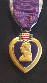 Purple Heart Ring for Larry - A Creation Story