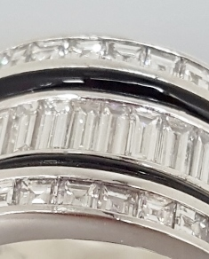 Sizing Rings with Inlay