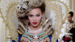 Beyonce bedecked in jewelry