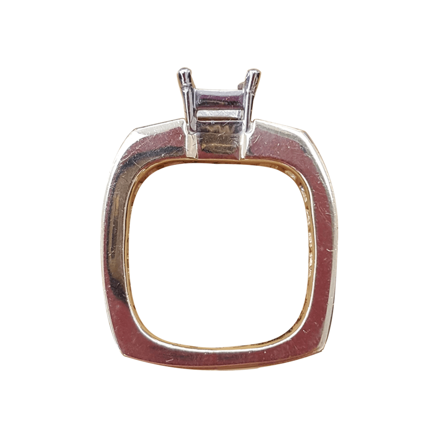 Square Shanks. Ring side view