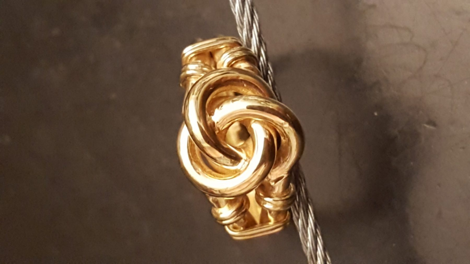 after picture of knot ring